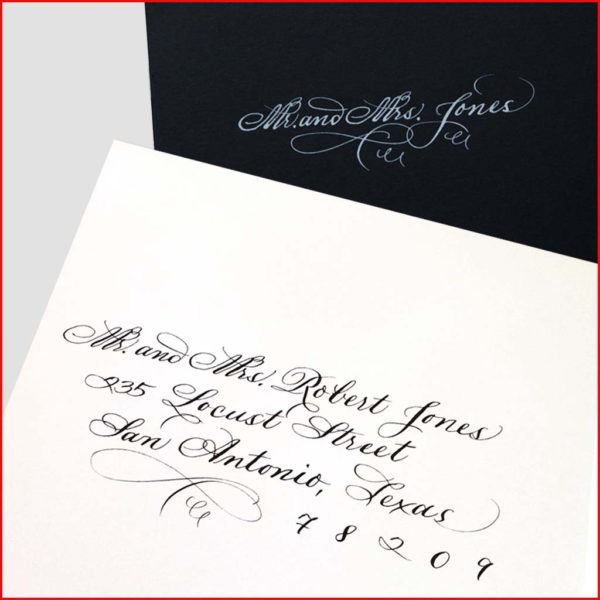 MJW Calligraphy | Michael Weinstein | Envelopes 25