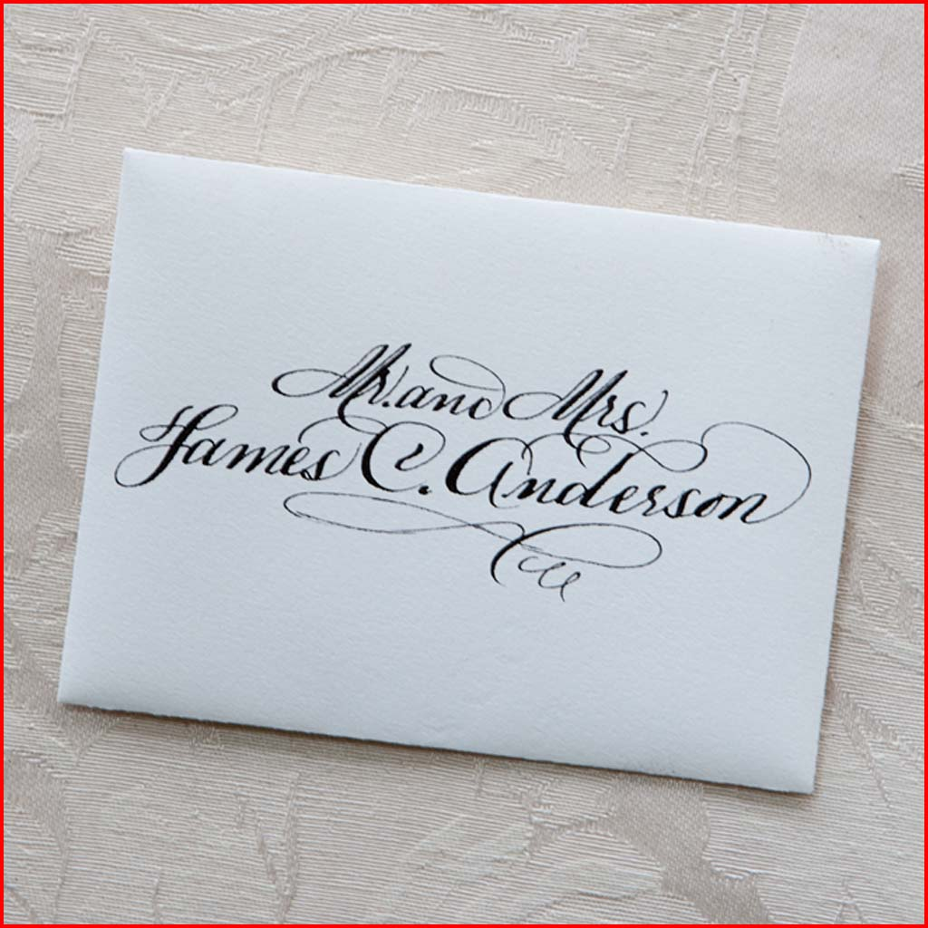 MJW Calligraphy | Michael Weinstein | PLACE CARDS 10
