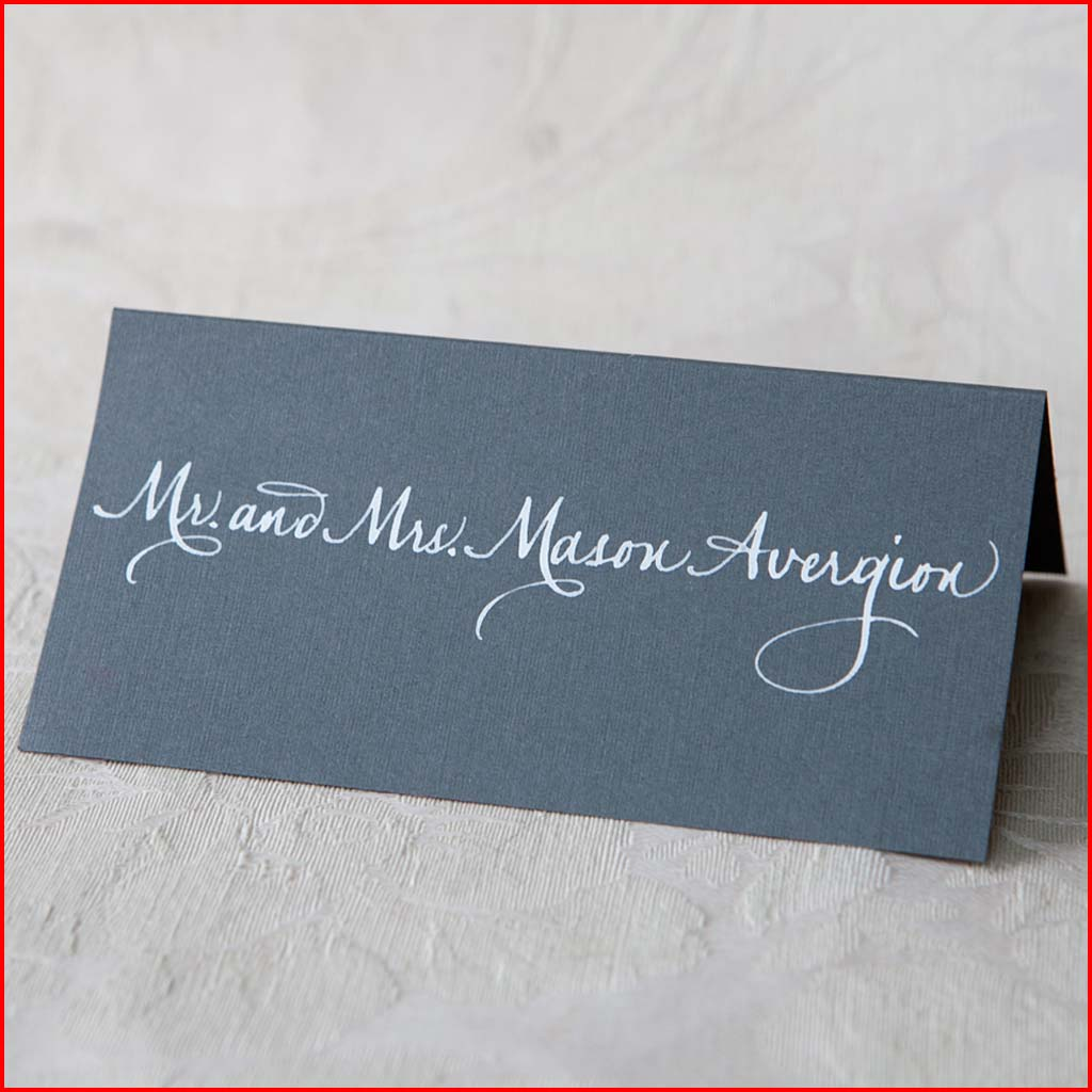 MJW Calligraphy | Michael Weinstein | PLACE CARDS 12